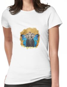 The Elephant King MAN! Womens Fitted T-Shirt