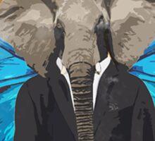 The Elephant King MAN! Sticker