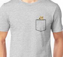 Doge Pocket Unisex T-Shirt