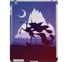 The Night Will Last Forever - Nightmare Moon Print iPad Case/Skin