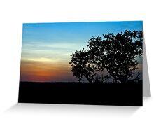 Sunrise Masai Mara Greeting Card