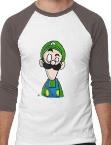 Luigi dO_op Men's Baseball ¾ T-Shirt