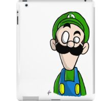 Luigi dO_op iPad Case/Skin