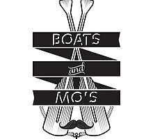 Boats and Mo's Phone Case by lainefirth