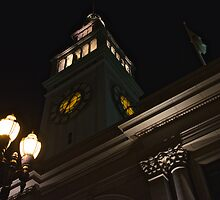 Ferry Building, San Francisco Embarcadero by Scott Johnson
