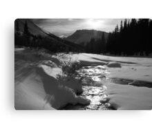 To Bow Lake Canvas Print