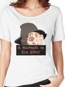 Robert Englund, Freddy Krueger- A Nightmare on Elm Street Women's Relaxed Fit T-Shirt