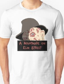 Robert Englund, Freddy Krueger- A Nightmare on Elm Street T-Shirt