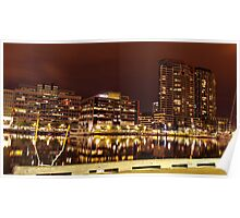 Reflected Docklands Poster