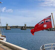 Australian Red Ensign  - Maritime by DPalmer