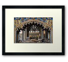 Tomb of Bishop Brownescombe Framed Print