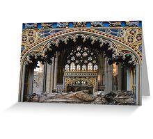 Tomb of Bishop Brownescombe Greeting Card