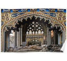 Tomb of Bishop Brownescombe Poster