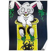 Radioactive Bunny Poster