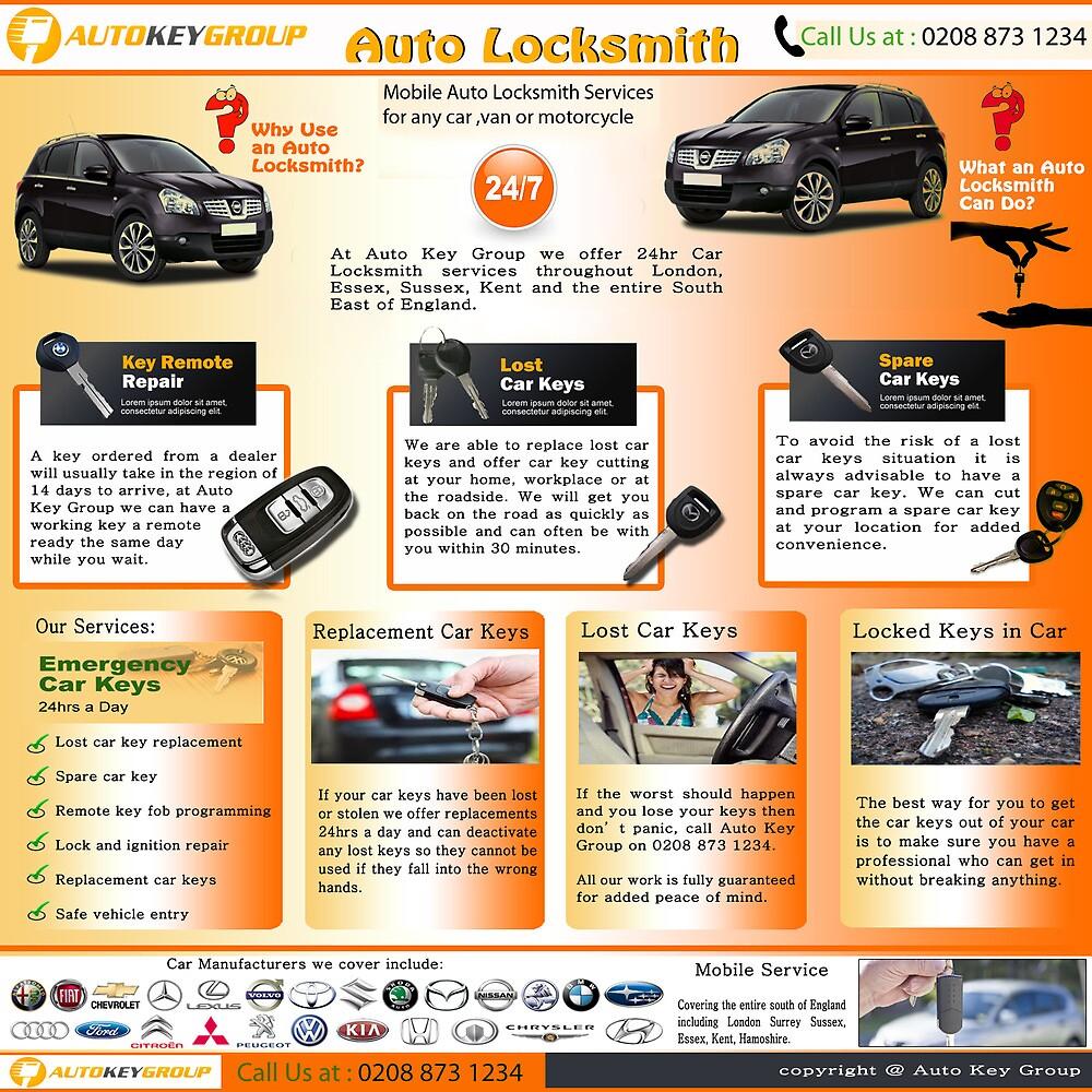 Auto Locksmith by LostCarKey