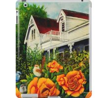 The rose gardens. Franklin Tasmania iPad Case/Skin
