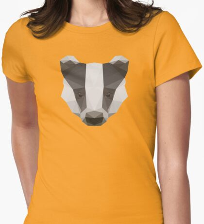 Badger Love Womens Fitted T-Shirt
