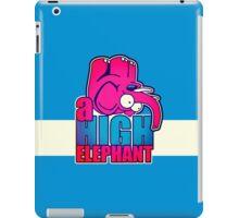 the high elephant iPad Case/Skin