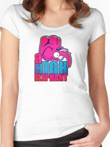 the high elephant Women's Fitted Scoop T-Shirt