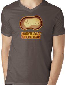 Tasty potato salad Mens V-Neck T-Shirt