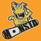 the monster-lord of the boards by digitalstoff