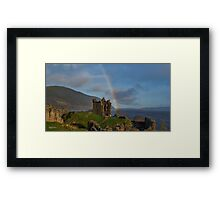 Loch Ness Rainbow Framed Print