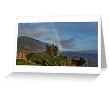 Loch Ness Rainbow Greeting Card