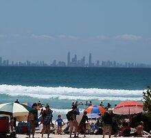 View to Surfers Paradise from Greenmount Beach by FangFeatures