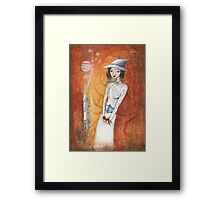 White Witch and Mandrake Framed Print