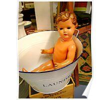 Dolly's Bathtime Poster