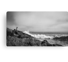 Catching A Wave Canvas Print