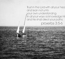 Trust Lord Proverbs 3 by Kimberose