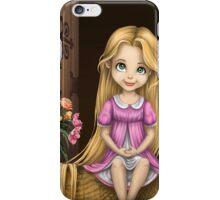 Little Miss Princess Rapunzel iPhone Case/Skin