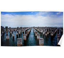 Princes Pier Port Melbourne Vic Poster