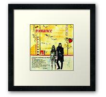 Romance Valentine Framed Print