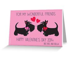 Valentine's Day – Bee Bee & Bella Greeting Card