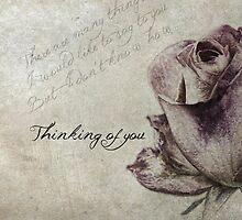 vintage rose  by Marlen