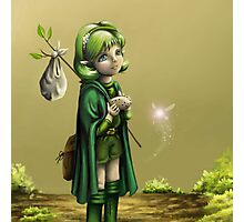 Saria's Search (Ocarina of Time) Photographic Print