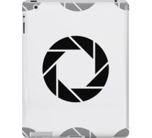 Aperture for photography lovers iPad Case/Skin