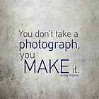 Photography Quote by Marlen