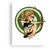 Felicity, where's my bow? Canvas Print