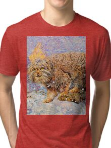 Manul Winter Tri-blend T-Shirt