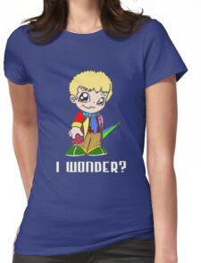 Celebrate Colin Baker Womens Fitted T-Shirt