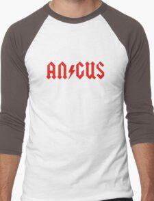 Angus Rock & Roll Men's Baseball ¾ T-Shirt