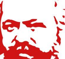 Karl Marx Slogan Stickers Sticker