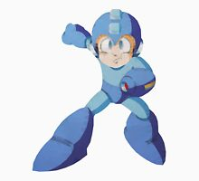 Mega Man 3 - Polygon Mega Man Men's Baseball ¾ T-Shirt