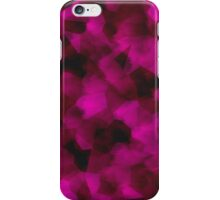 Smudged Pink iPhone Case/Skin