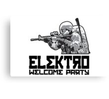 DayZ - Elektro Welcome Party Canvas Print