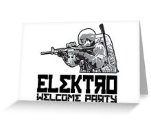 DayZ - Elektro Welcome Party Greeting Card