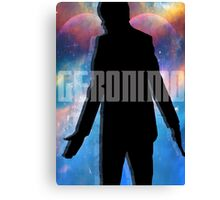 Matt Smith - Geronimo Canvas Print
